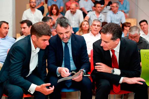 Manuel Bonilla, director de Suma, Javier Jiménez y Javier Sáez