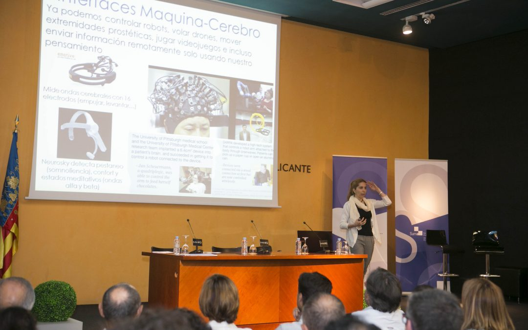Jornada sobre inteligencia artificial con la investigadora Nuria Oliver