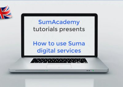 How to use Suma digital services