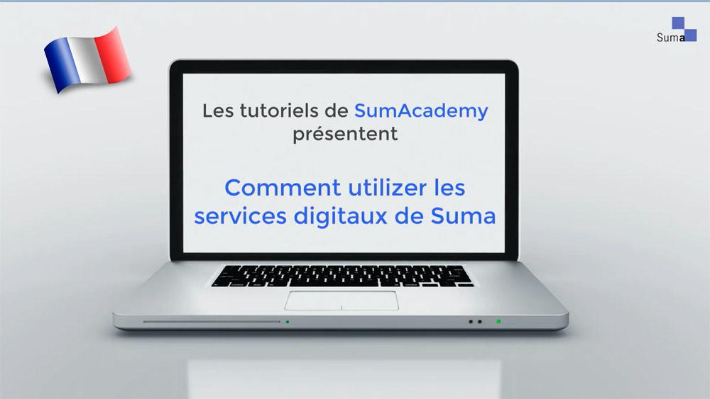 Comment utiliser les services digitaux de Suma