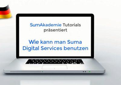 Wie kann man Suma Digital Services benutzen