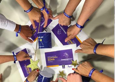 Nuevo reto del Voluntariado de Suma a favor de la Fundación Pequeño Deseo