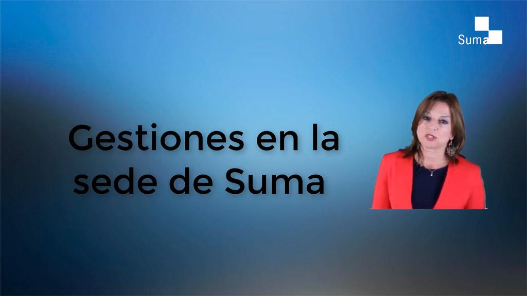 Tipos de trámites que requieren identificación digital en la web de Suma