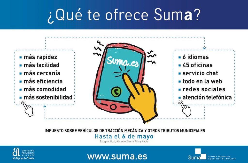 Suma tanca la campanya de vehicles i altres taxes municipals amb 1,7 milions d'euros més que en 2018