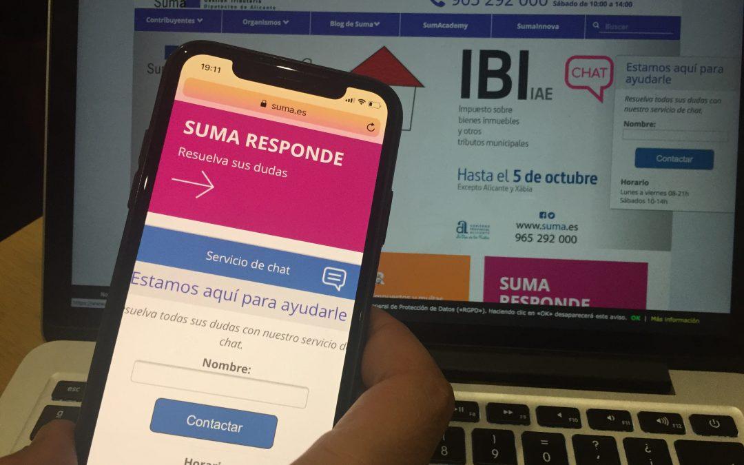 Suma aconseguix els millors resultats de la seua història en la campanya de l'IBI al superar el 92% d'ingressos per als ajuntaments