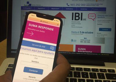 Suma consigue los mejores resultados de su historia en la campaña del IBI al superar el 92% de ingresos para los ayuntamientos