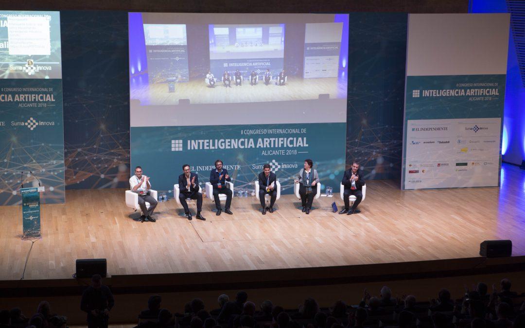 Experts de les majors tecnològiques del món analitzen a Alacant els reptes de la Intel·ligència Artificial
