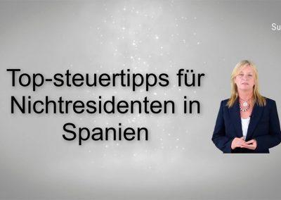 Top-Steuertipps für Nichtresidenten in Spanien
