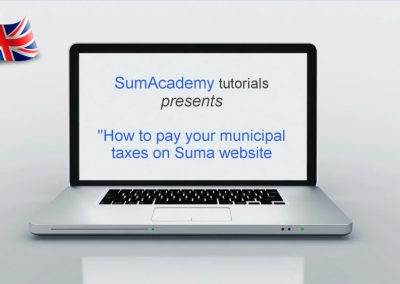 How to pay your municipal taxes on Suma website