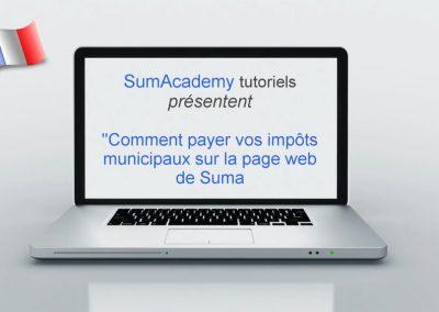 Comment payer vos impôts municipaux sur la page web de Suma