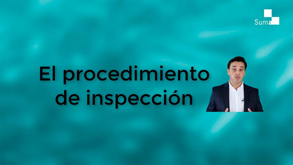 En qué consiste la inspección tributaria de Suma