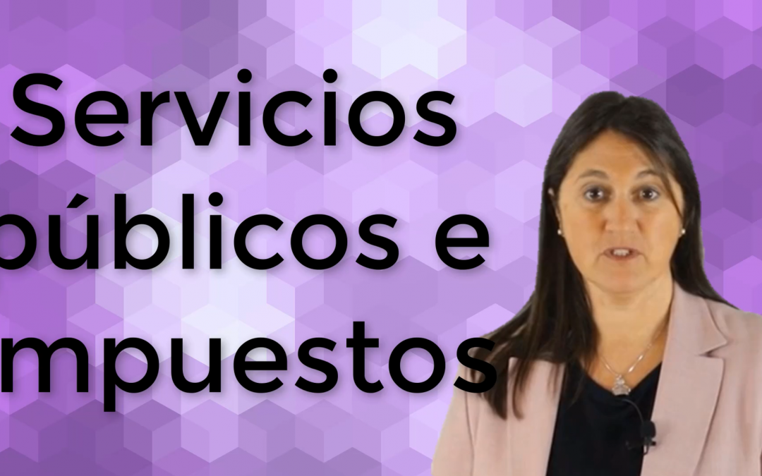 Servicios municipales e impuestos locales