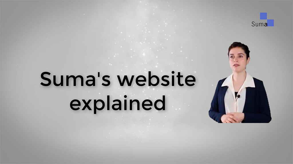 Suma website explained for all users