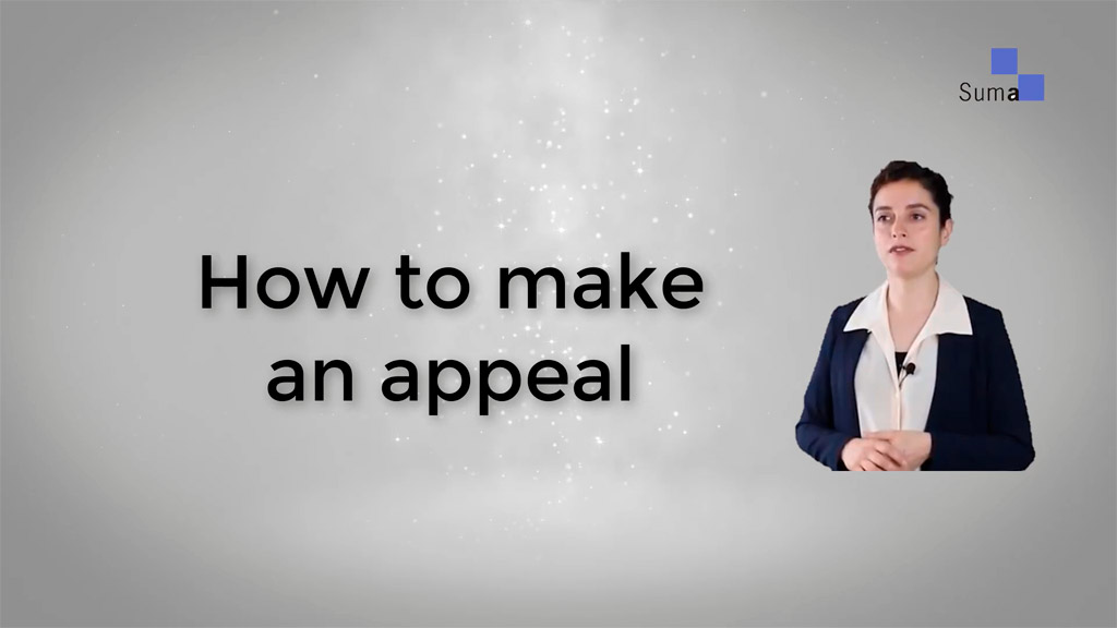 Tutorial on how to appeal to Suma