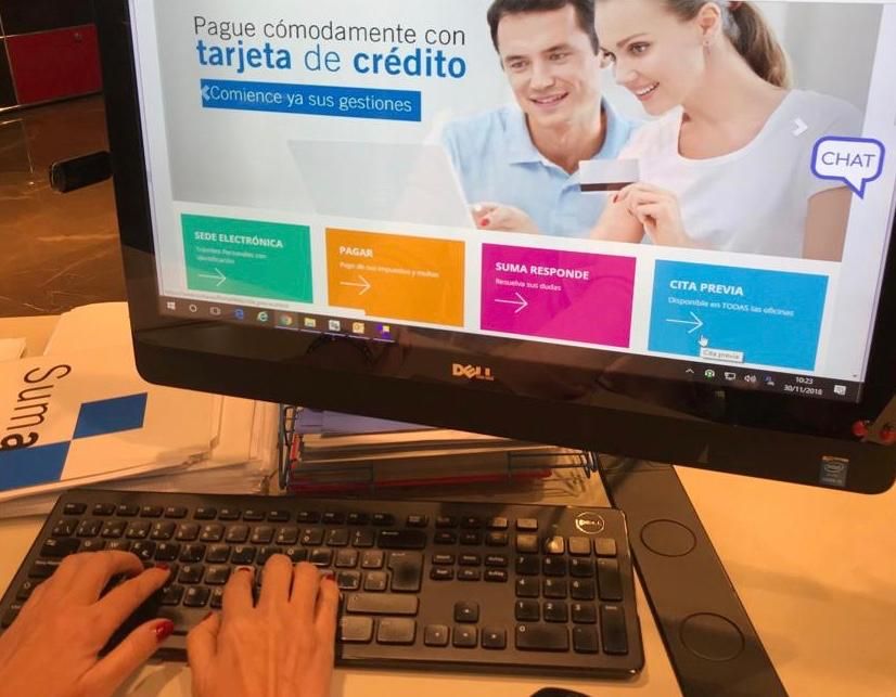 Nou servici de cita prèvia online de Suma per a totes les oficines