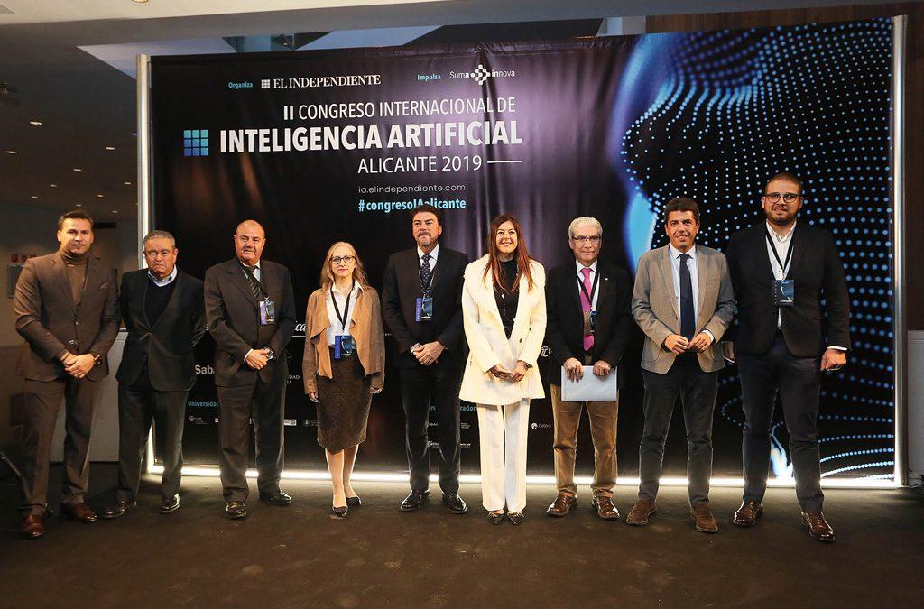 """Carlos Mazón: """"Alicante es referencia en el método de digitalización a nivel nacional e internacional"""""""