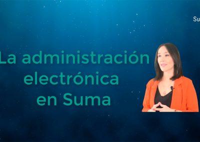 La administración electrónica en Suma