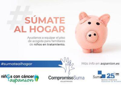 Nuevo reto de Suma para acondicionar un piso de Aspanion para familias de niños con cáncer