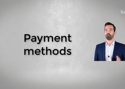 Tutorial on payment methods in Suma