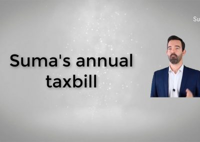 Tutorial on Suma annual tax bill
