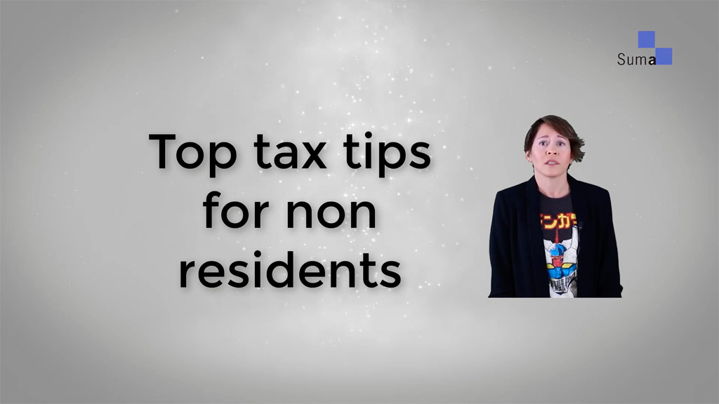 Tax Tips for non-residents