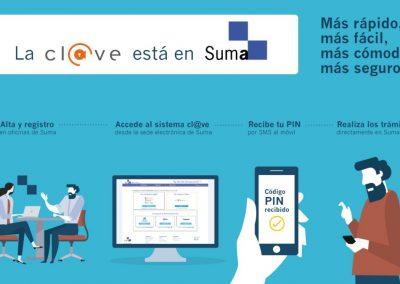 Suma integra el sistema Cl@ve i es convertix en oficina de registre presencial