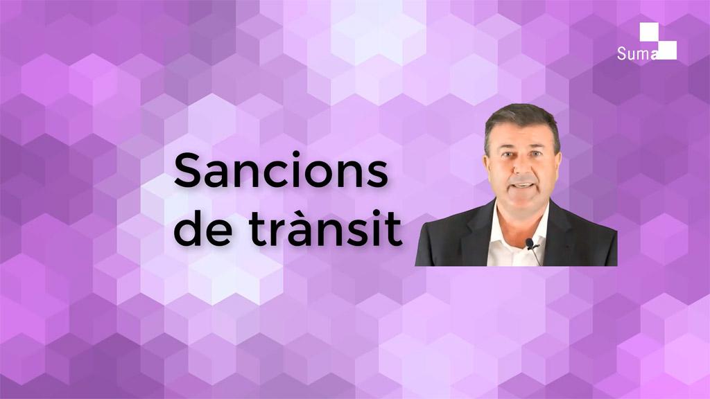 Què has de saber sobre les sancions de trànsit